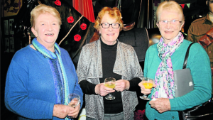 Maureen Brodie (nee Carter) Helen Marsonet (nee Norris and Gwen Potter (nee Mulholland) all went to Rylstone Primary School together. It was a great thrill for them to get together again at the exhibition opening.
